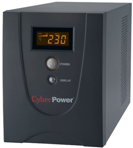 UPS Line-Interactive CyberPower VALUE1200ELCD 1200VA/720W USB/RS-232/RJ11/45 (4 EURO)