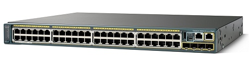 Catalyst 2960-X 48 GigE, 2 x 10G SFP+, LAN Base