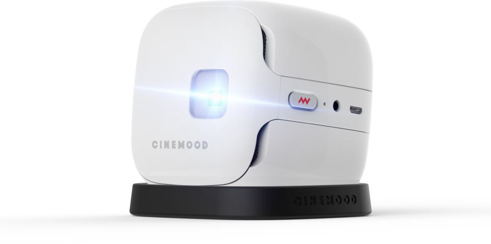 Portable projector CINEMOOD Storyteller  ,CNMD0016SE white 16GB 12мес подписки Мульт