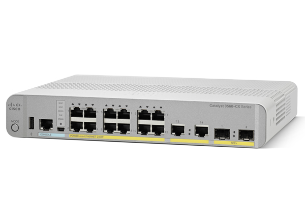Cisco Catalyst 3560-CX PD PSE 8 Port PoE, 1G Uplinks IP Base