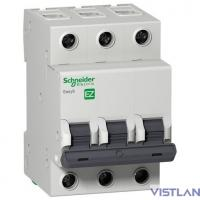 Schneider-electric EZ9F34363 АВТ. ВЫКЛ. EASY 9 3П 63А С 4,5кА 400В =S=