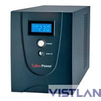 UPS CyberPower V 1500E LCD VALUE1500ELCD {1500VA/900W USB/RS-232/RJ11/45 (4 EURO)}
