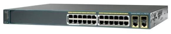 Коммутатор Cisco Коммутатор Catalyst 2960-X 24 GigE, 4 x 1G SFP, LAN Base