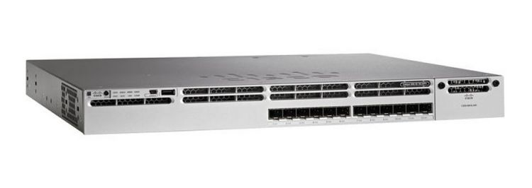 Cisco Catalyst 3850 12 Port 10G Fiber Switch IP Base