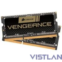 Память DDR3 2x4Gb 1600MHz Corsair CMSX8GX3M2A1600C9 RTL PC3-12800 CL9 SO-DIMM 204-pin 1.5В
