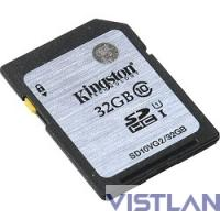 SecureDigital 32Gb Kingston SD10VG2/32GB {SDHC Class 10}