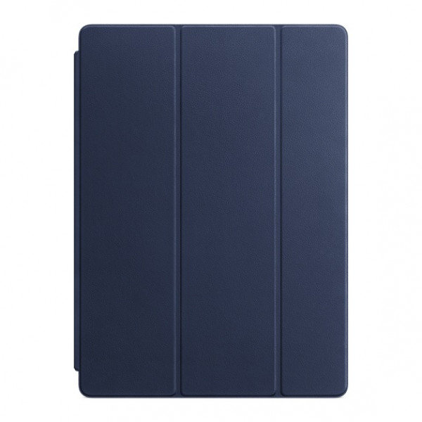 Leather Smart Cover for 12.9 iPad Pro - Midnight Blue