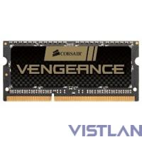 Память DDR3 8Gb 1600MHz Corsair CMSX8GX3M1A1600C10 RTL PC3-12800 CL10 SO-DIMM 204-pin 1.5В