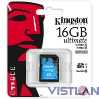 SecureDigital 16Gb Kingston SDA10/16GB {SDHC Class 10, UHS-I}