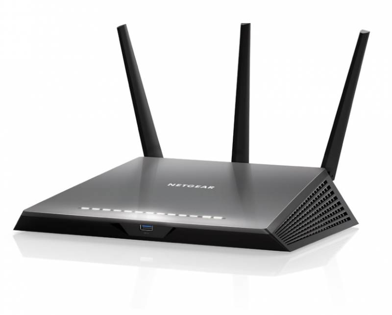 Smar router  Nighthawk ®  AC1900 , 802.11ac  300+1600 Mbits (2.4 GHz and 5 Ghz)-256 QAM, 1  USB 3.0, 1  USB 2.0, 5 port - 10/100/1000 Mbit/s (1 WAN   and 4 LAN) ,DLNA, VPN,  print-server, Micro SIM, LTE cat 6