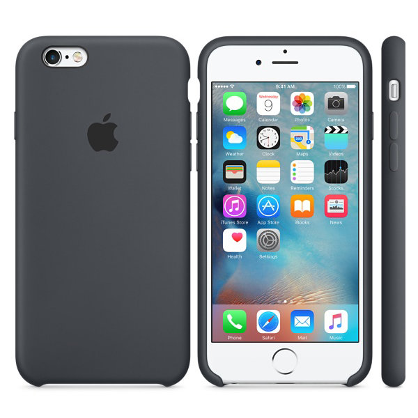 iPhone 6/6s Silicone Case - Charcoal Gray