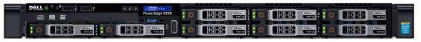 "PowerEdge R330 E3-1230v6 (3.5GHz, 4C), No Memory, No HDD, (up to 8x2.5""), PERC H330, DVD+/-RW, Broadcom 5720 DP 1Gb LOM, iDRAC8 Enterprise, PSU (1)*350W, Bezel, ReadyRails, 3Y Basic NBD"