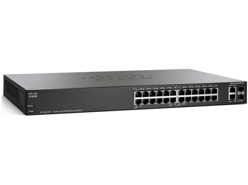 SF220-24 24-Port 10/100 Smart Switch