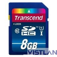 SecureDigital 8Gb Transcend TS8GSDU1 {SDHC Class 10, UHS-I, 300X}