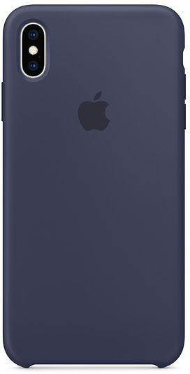 iPhone XS Max Silicone Case - Midnight Blue