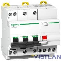Schneider-electric A9D56725 ДИФФ.АВТ. DPN N VIGI 4П 6КА 25A B 30MA A