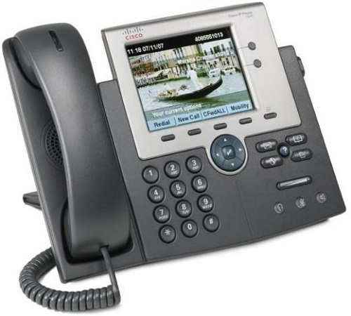 Cisco IP Phone 7945, Gig Ethernet, Color, spare