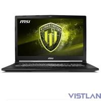 "MSI WE73 8SJ-074RU 17.3""(1920x1080 (матовый))/Intel Core i7 8750H(2.2Ghz)/16384Mb/1000+128SSDGb/noDVD/Ext:nVidia Quadro P2000(4096Mb)/Cam/BT/WiFi/51WHr/war 3y/2.7kg/black/W10Pro"