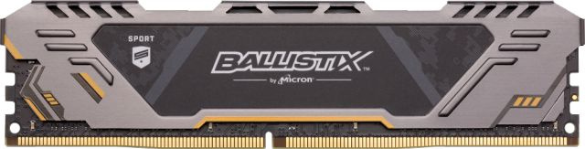 Crucial 8GB DDR4 3000 MT/s (PC4-24000) CL17 SR x8 Unbuffered DIMM 288pin Ballistix Sport AT