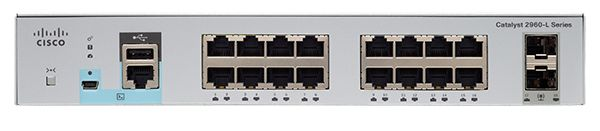 Catalyst 2960L 16 port GigE, 2 x 1G SFP, LAN Lite