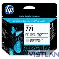 HP 771 Photo Black/Light Gray Designjet Printhead