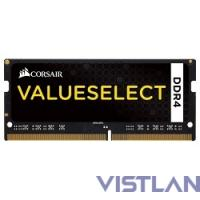 Память DDR4 4Gb 2133MHz Corsair CMSO4GX4M1A2133C15 RTL PC4-17000 CL15 SO-DIMM 260-pin 1.2В