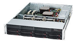 2U, 13.68'x13', 8x3.5' hot swap SAS/SATA with SES2, 7xLP, 437x89x648mm, 600W