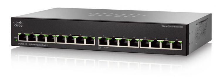 SG110-16 16-Port Gigabit Switch