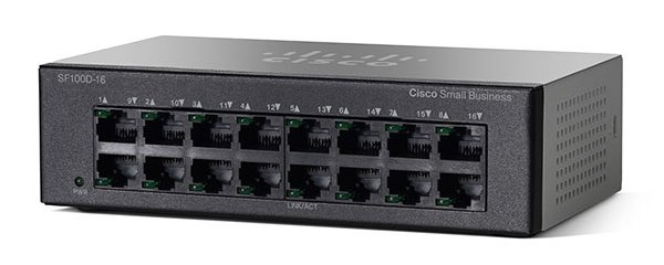 SF110D-16 16-Port 10/100 Desktop Switch