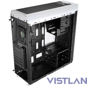Miditower Aerocool AERO-500 White , Midi-Tower, без БП [55767/55521/55583]