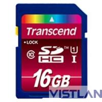 Transcend 16GB SDHC Class 10 UHS-I 600x (Ultimate)