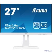 "Монитор Iiyama 27"" ProLite B2791HSU-W1 белый TN LED 1ms 16:9 HDMI M/M матовая HAS Pivot 300cd 170гр/160гр 1920x1080 D-Sub DisplayPort FHD USB 6.9кг"