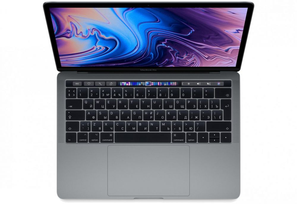 13-inch MacBook Pro with Touch Bar: 2.3GHz quad‑core 8th‑generation Intel Core i5 (TB up to 3.8GHz)/8Gb/512GB/Intel Iris Plus Graphics 655 - Space Grey