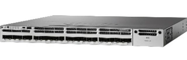 Cisco Catalyst 3850 24 Port 10G Fiber Switch IP Base