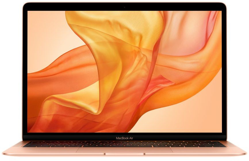 13-inch MacBook Air: 1.6GHz dual-core 8th-generation Intel Core i5 (TB up to 3.6GHz)/8GB/128GB SSD/Intel UHD Graphics 617 - Gold