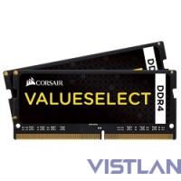 Память DDR4 2x4Gb 2133MHz Corsair CMSO8GX4M2A2133C15 RTL PC4-17000 CL15 SO-DIMM 260-pin 1.2В