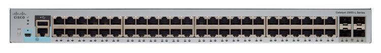 Catalyst 2960L 48 port GigE, 4 x 1G SFP, LAN Lite