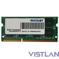 Patriot DDR3 SODIMM 8GB PSD38G13332S (PC3-10600, 1333MHz)