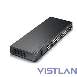 ZYXEL MES3500-24 24-port Managed Layer 2+ Metro Fast Ethernet Switch with 4 shared SFP slots