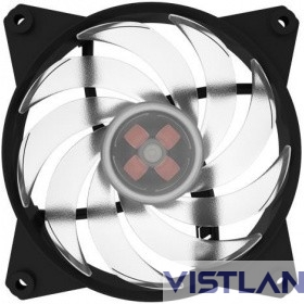 Cooler Master MasterFan Pro 120 Air Balance,120mm, 4-Pin (PWM), RGB, 3 pcs + MFP RGB LED Controller (MFY-B2DC-133PC-R1)