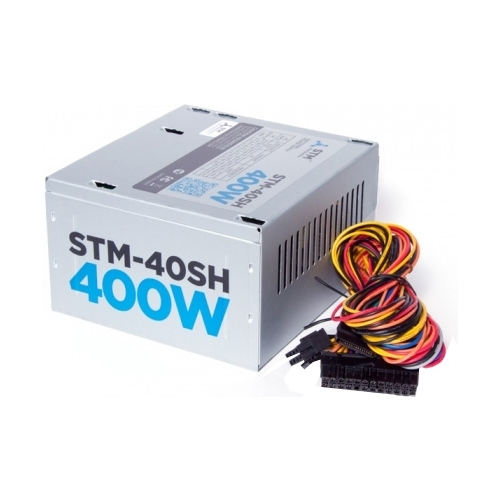 PSU STM-40SH 400W, ATX, 80mm, 2xSATA