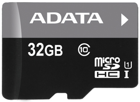 ADATA 32GB microSDHC class10 UI without SD adapter