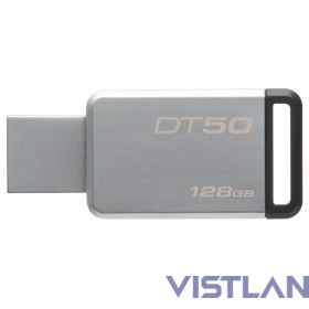 Kingston USB Drive 128Gb DT50/128GB {USB3.1}