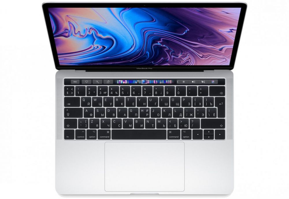 13-inch MacBook Pro with Touch Bar: 2.3GHz quad‑core 8th‑generation Intel Core i5 (TB up to 3.8GHz)/8Gb/512GB/Intel Iris Plus Graphics 655 - Silver