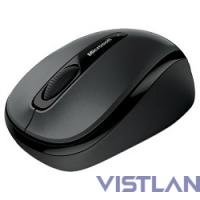 Mouse Microsoft Wireless Mobile 3500 Black (1000dpi, BlueTrack™, FM, 3btn+Roll, 1xAA, nanoreceiver ) Retail