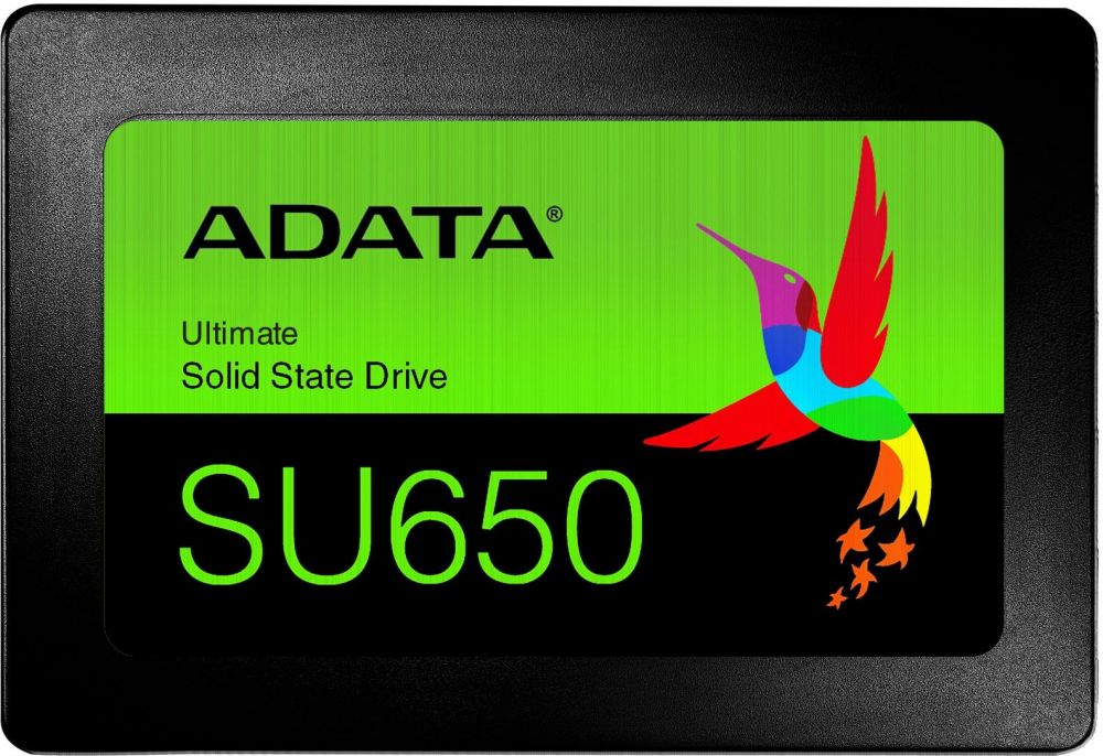 "ADATA 120GB SSD SU650 TLC 2.5"" SATAIII 3D NAND, SLC cach / without 2.5 to 3.5 brackets / blister"