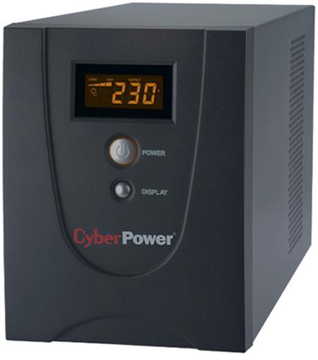 UPS Line-Interactive CyberPower VALUE1500ELCD 1500VA/900W USB/RS-232/RJ11/45 (4 EURO)