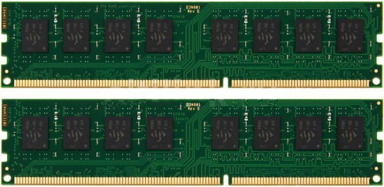 Kingston DIMM  8GB 1333MHz DDR3 Non-ECC CL9  SR x8 (Kit of 2) STD Height 30mm