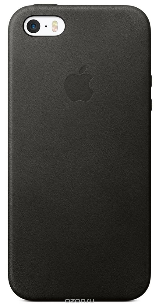 iPhone 5/5s/SE Leather Case - Black