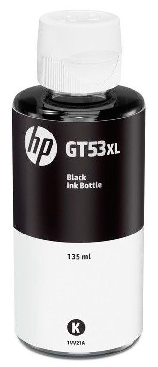 HP GT53XL 135ml Black Original Ink Bottle